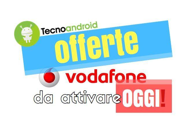 Vodafone: soltanto per oggi attivazione gratis su due offerte