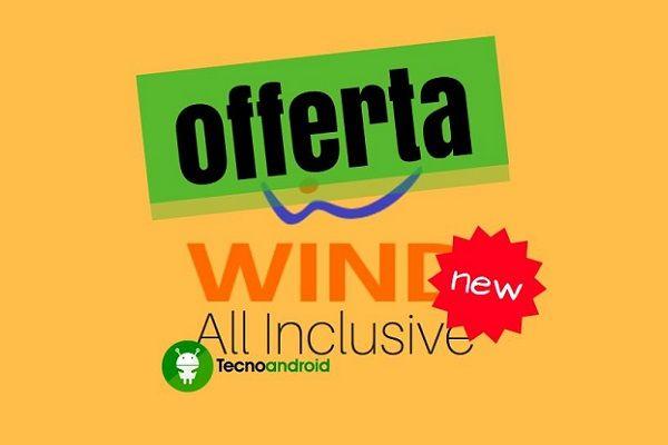 Wind All Inclusive 1000 New potrà essere attivata entro il 18/09