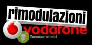 rimodulazione Vodafone