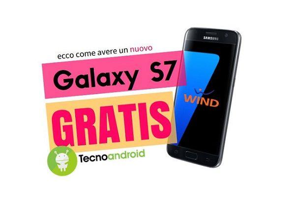 Wind: ecco come avere gratis un Galaxy S7 con il gestore arancione