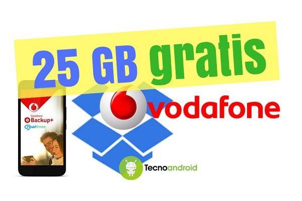 Vodafone Backup+: ecco come ottenere 25 GB gratis su Dropbox