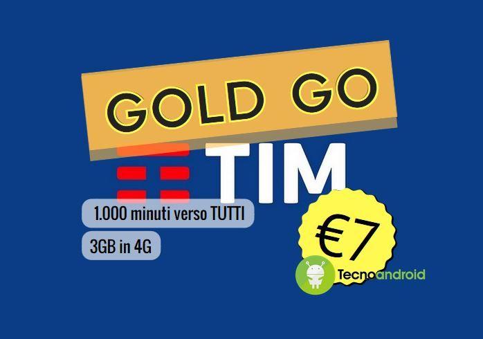 TIM Gold Go: ecco un'offerta d'oro da attivare entro oggi 4/09