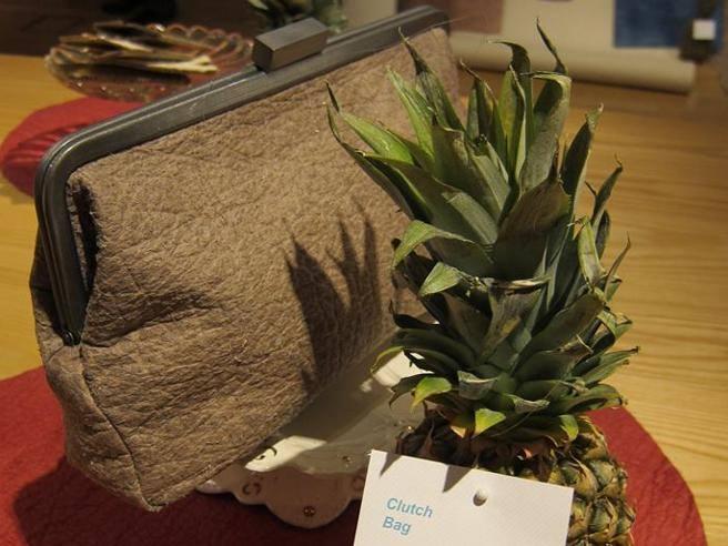 In arrivo il primo cuoio veg, prodotto con foglie di ananas