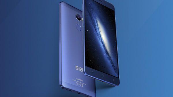 Il nuovo Elephone C1 ritratto nella colorazione Blue