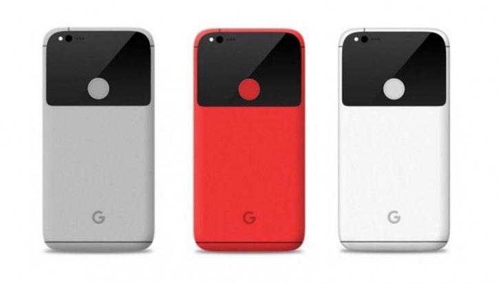 Google Pixel e Pixel XL: ecco come saranno frontalmente