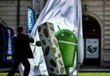 Statua Android Nougat