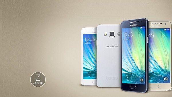 Samsung Galaxy A3: scheda tecnica mostrata su GFXBench