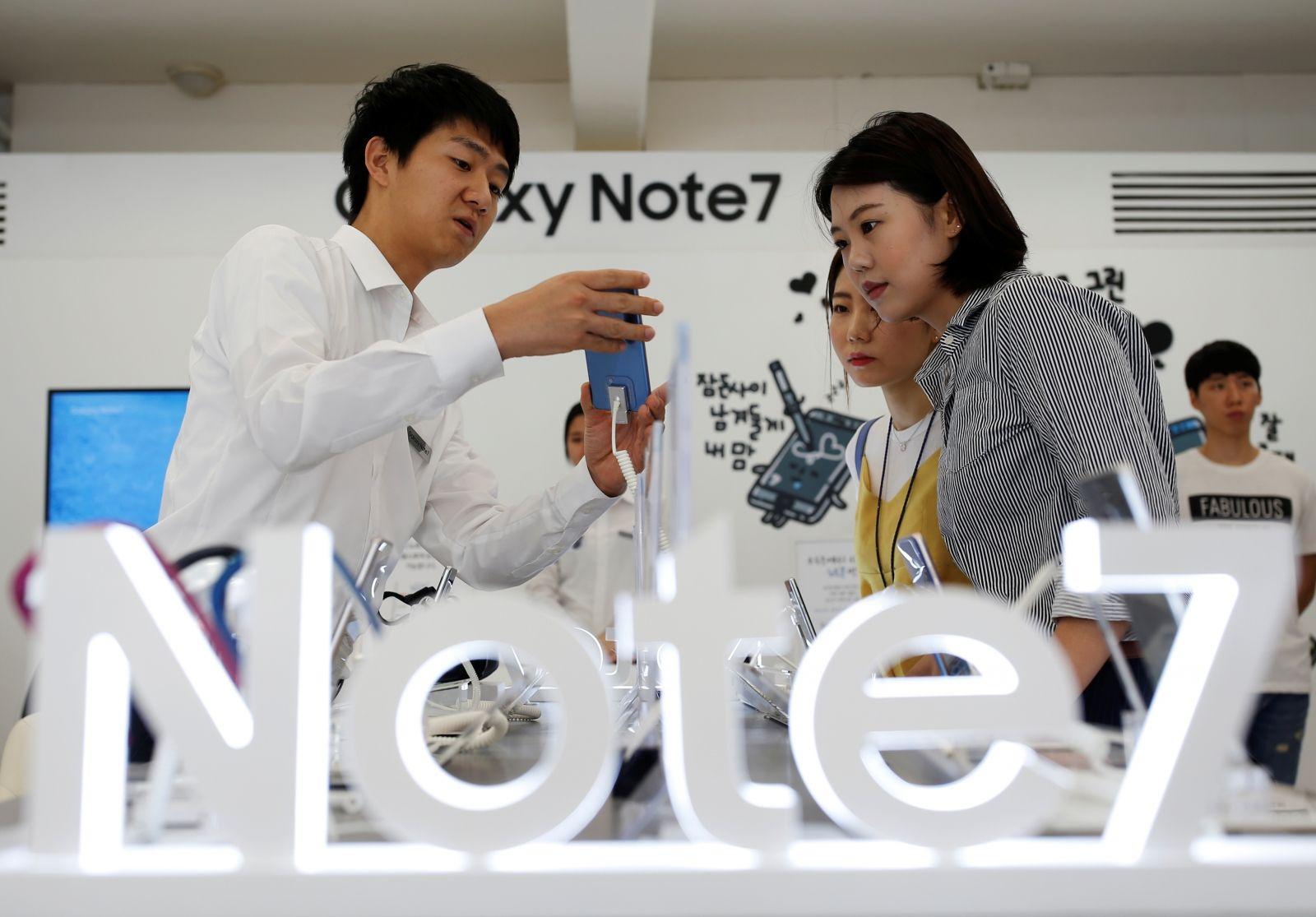 Samsung: i nuovi Galaxy Note 7 sono già oltre un milione