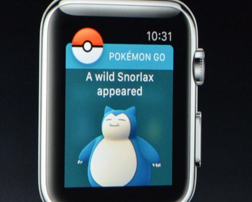 Ecco una delle schermate di gioco adattate al Watch.