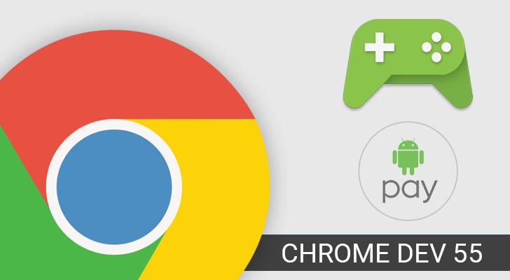 Chrome Dev si aggiorna alla versione 55 con varie novità