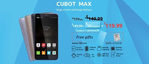 cubot-max
