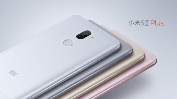 Il nuovo Xiaomi Mi 5s Plus ritratto nelle quattro colorazioni disponibili