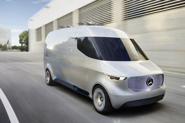 Mercedes-Benz: il furgone del futuro sarà dotato di droni