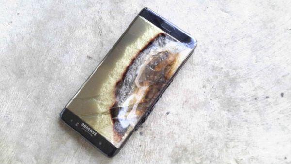 Samsung limita la carica dei Note 7