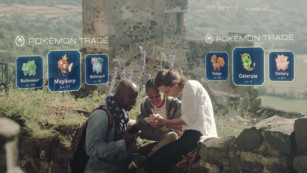 Pokémon GO: si avvicina il sistema di scambi, svelati i dettagli