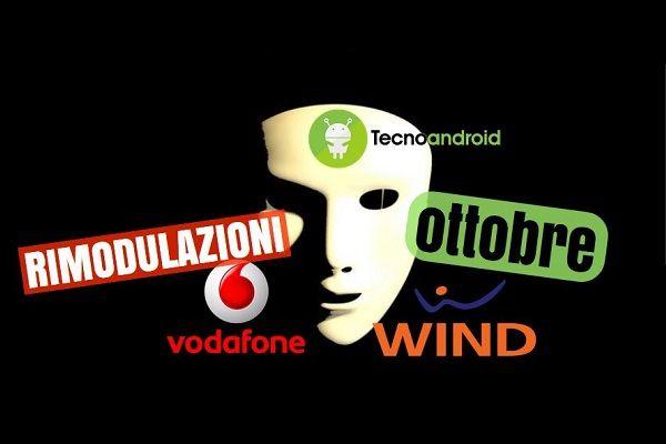 Rimodulazioni Wind e Vodafone a confronto: settembre/ottobre 2016