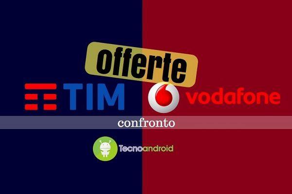 TIM vs Vodafone: ecco le migliori offerte da attivare a ottobre 2016