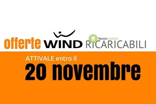 Offerte Wind Ricaricabili