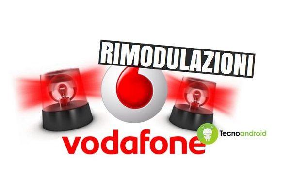 Vodafone: nuove rimodulazioni in arrivo dal 20 novembre prossimo