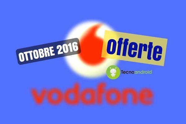 Vodafone: ecco alcune offerte imperdibili da attivare entro il 10 ottobre