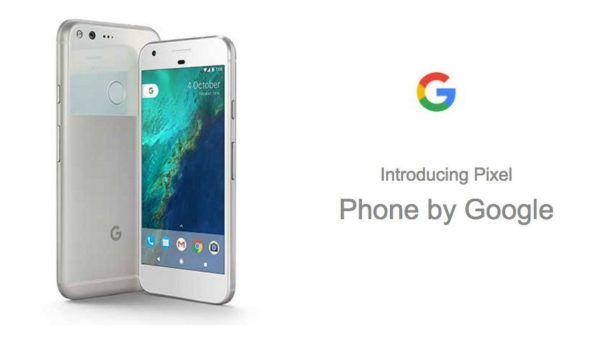 Google Pixel e Pixel XL sono certificati IP53