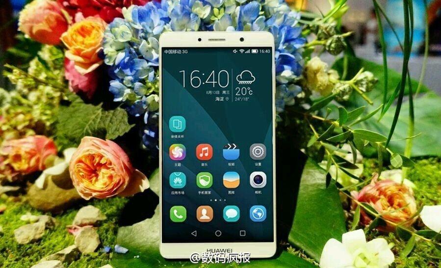 Huawei Mate 9: ecco le prime immagini dal vivo