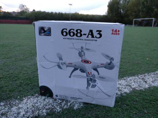 Recensione Yu Xiang 668-A3, il drone per tutti