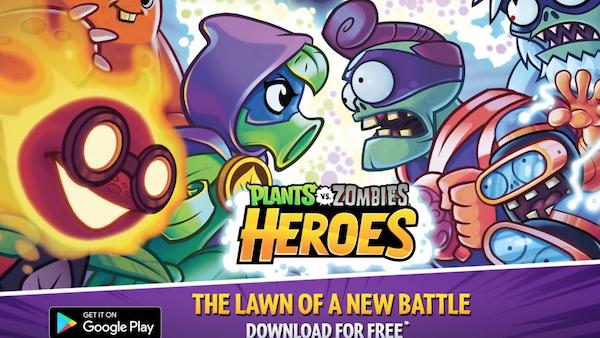 Plants vs. Zombies Heroes sbarca su iOS e Android