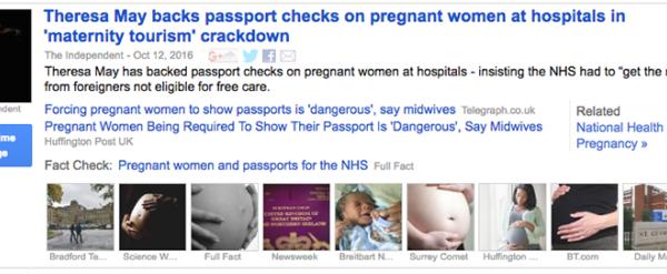 Fast Check Google News