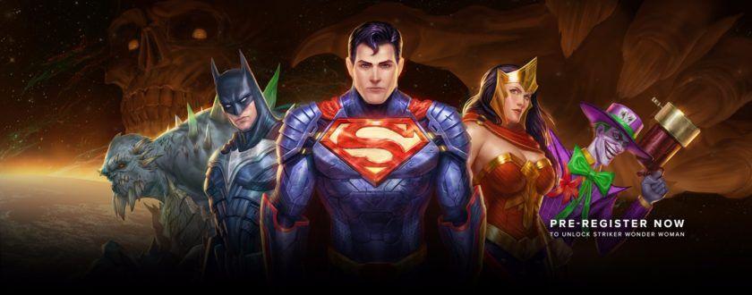 DC Legends: Wonder Woman in regalo con la pre-registrazione