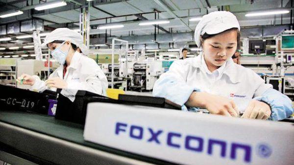Una delle fabbriche di produzione cinese di Foxconn