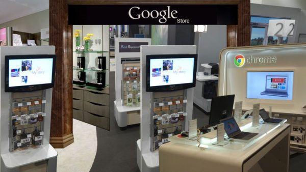 Google si prepara a realizzare una propria catena di store fisici