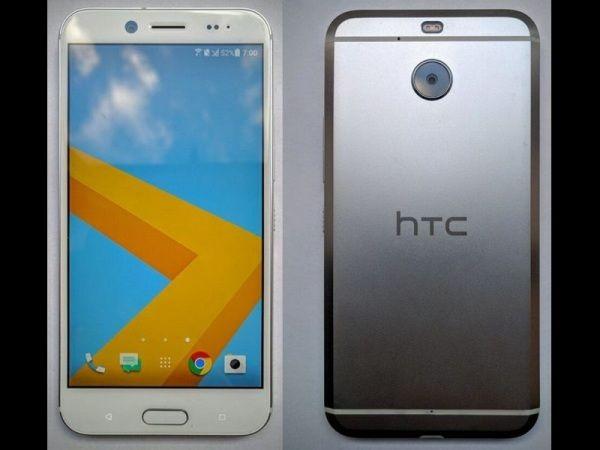 HTC Bolt (immagine reale) senza jack delle cuffie, Apple presa ad esempio
