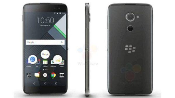 Il nuovo Blackberry DTEK60, in arrivo sul mercato l'11 ottobre
