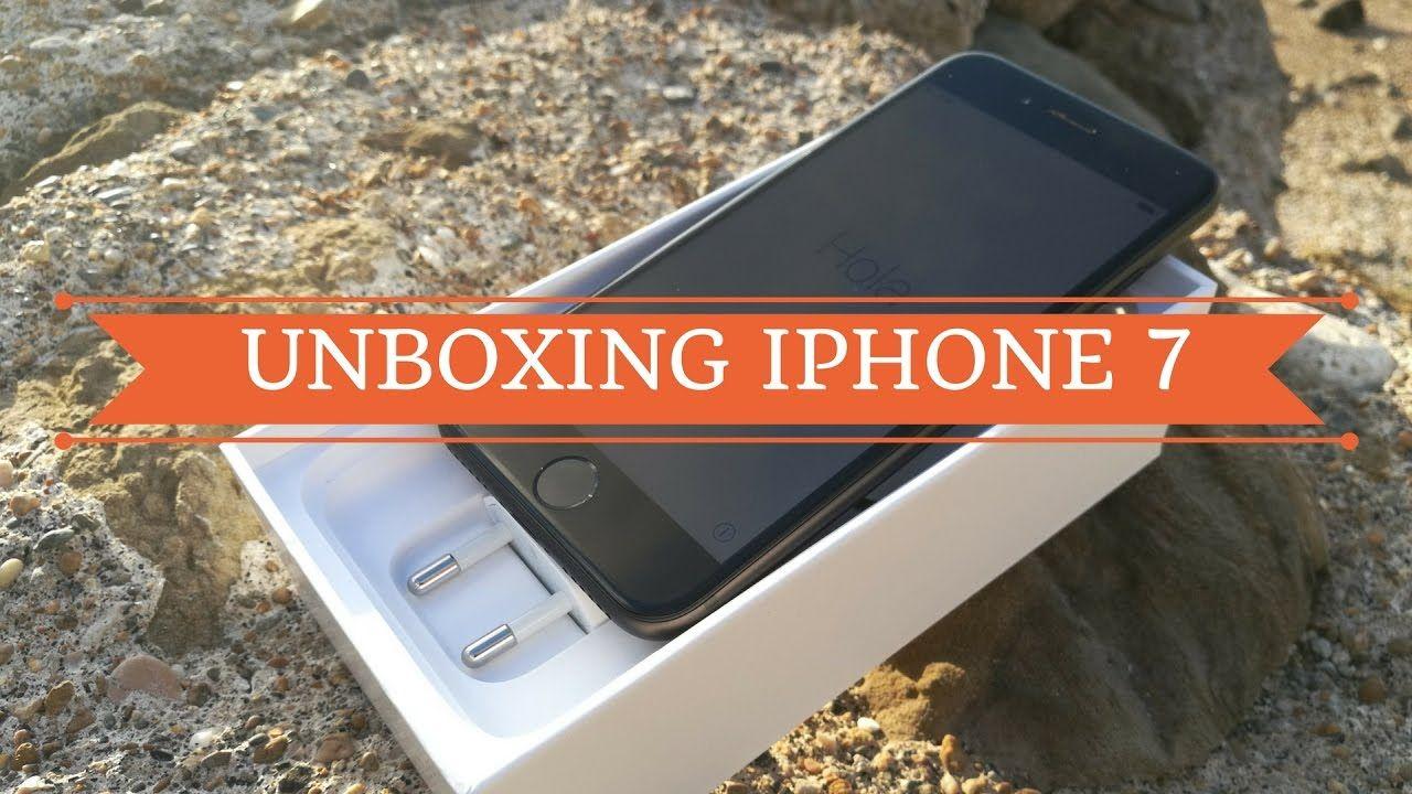 iPhone 7: il nostro unboxing sfida il mare