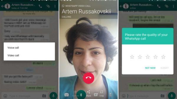 Whatsapp abilita le videochiamate su Android