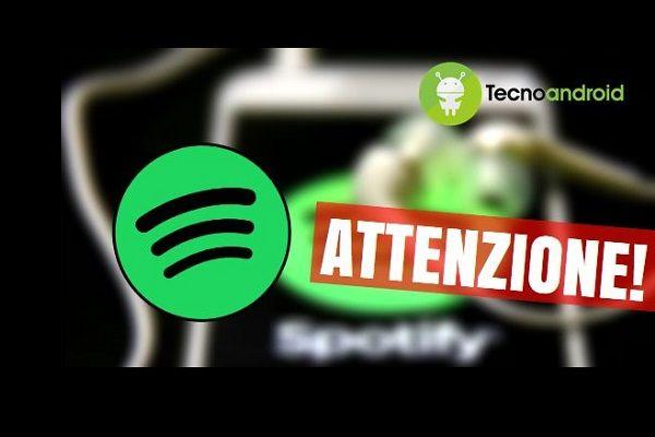 Spotify bug mangia hard disk