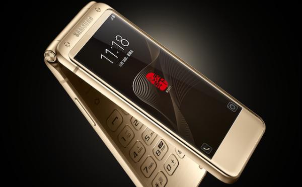 Ufficiale il Samsung SM-W2017, lo smartphone Android con design a conchiglia