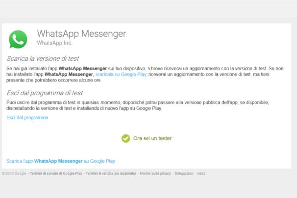 WhatsApp videochiamate 5