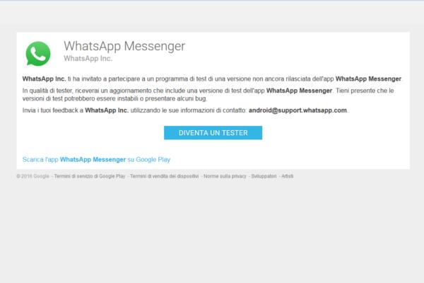 WhatsApp videochiamate 4