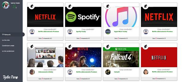 Together Price: la prima piattaforma per condividere abbonamenti come Netflix e Spotify