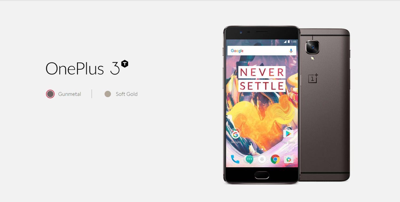OnePlus 3T: ecco la scheda tecnica completa in anteprima