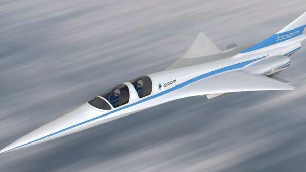 Baby Boom è un aereo supersonico che sostituire il Concorde