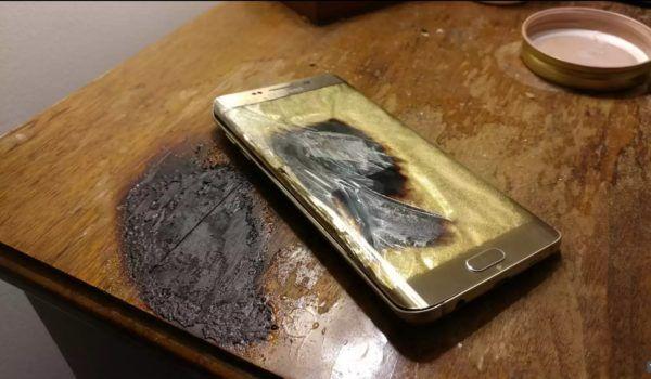 Galaxy S6 Edge esploso