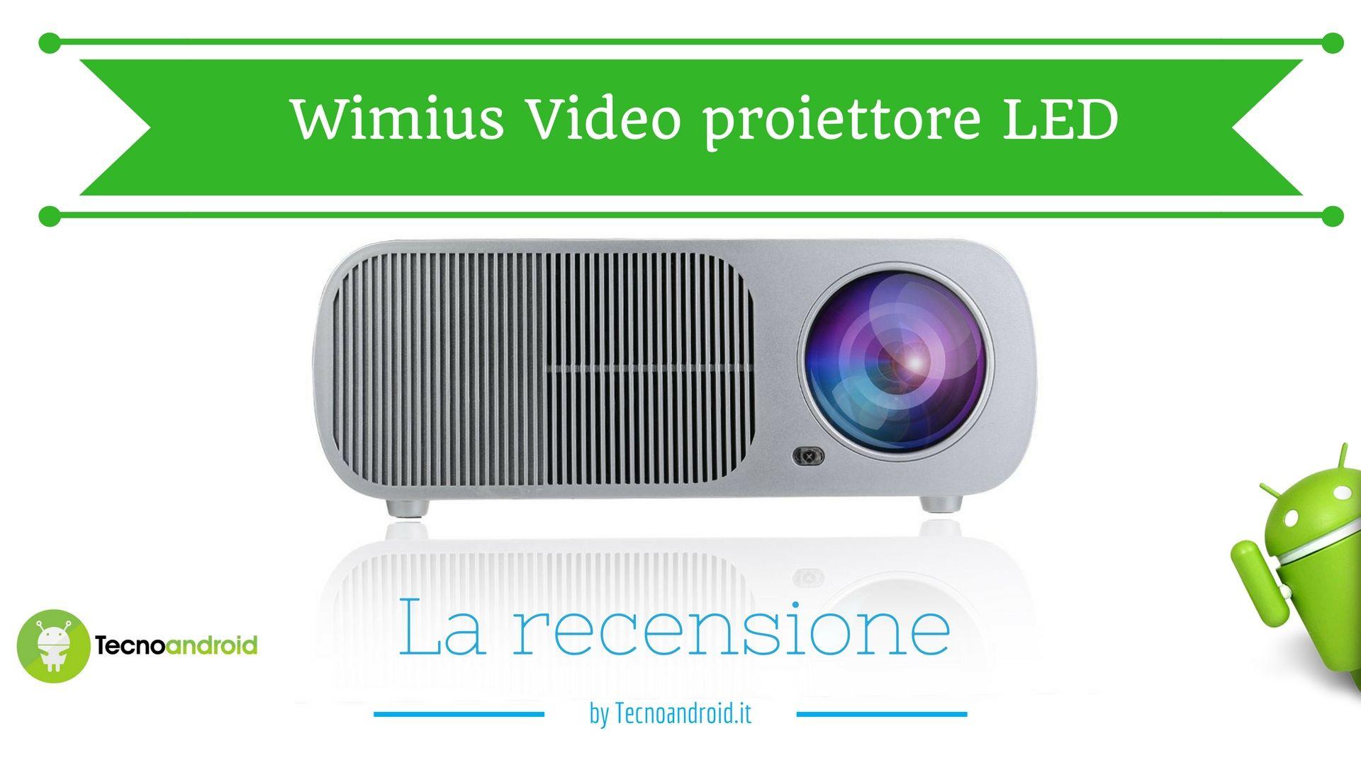 Recensione Wimius Video Proiettore Led Il Cinema A Casa Tua