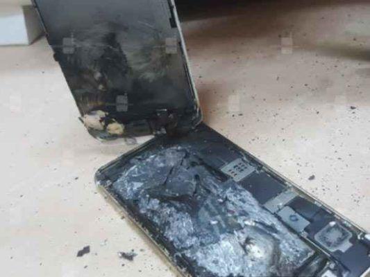iphone 6s esplosione