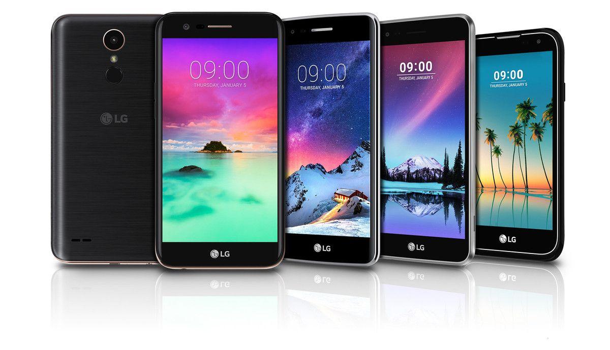 LG annuncia 5 nuovi smartphone