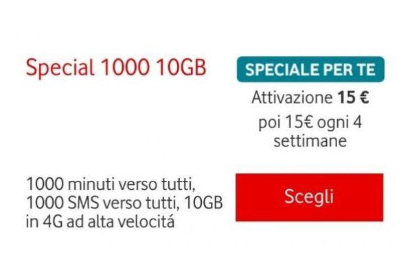 Vodafone Special 1000 10 GB