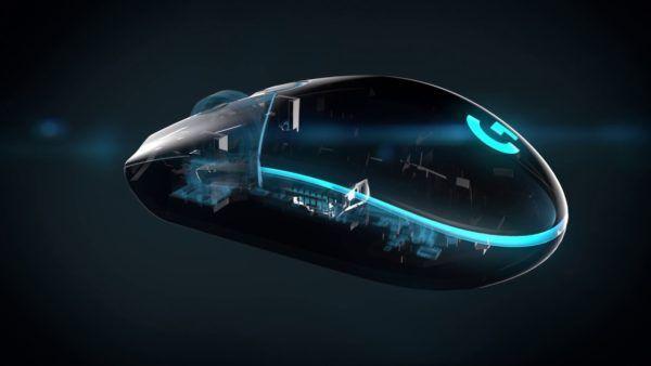 Logitech G203 Prodigy Mouse da Gioco, Cablato con Sensore Ottico, 6.000 Dpi, Nero