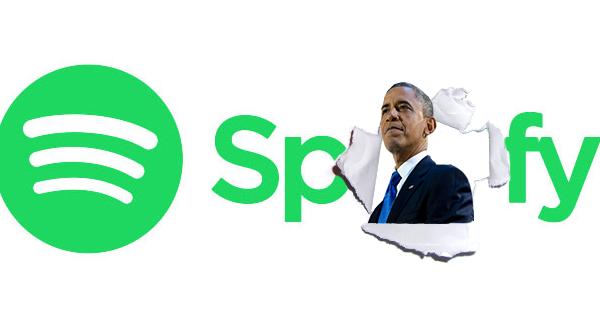 Spotify vuole Obama nel suo team